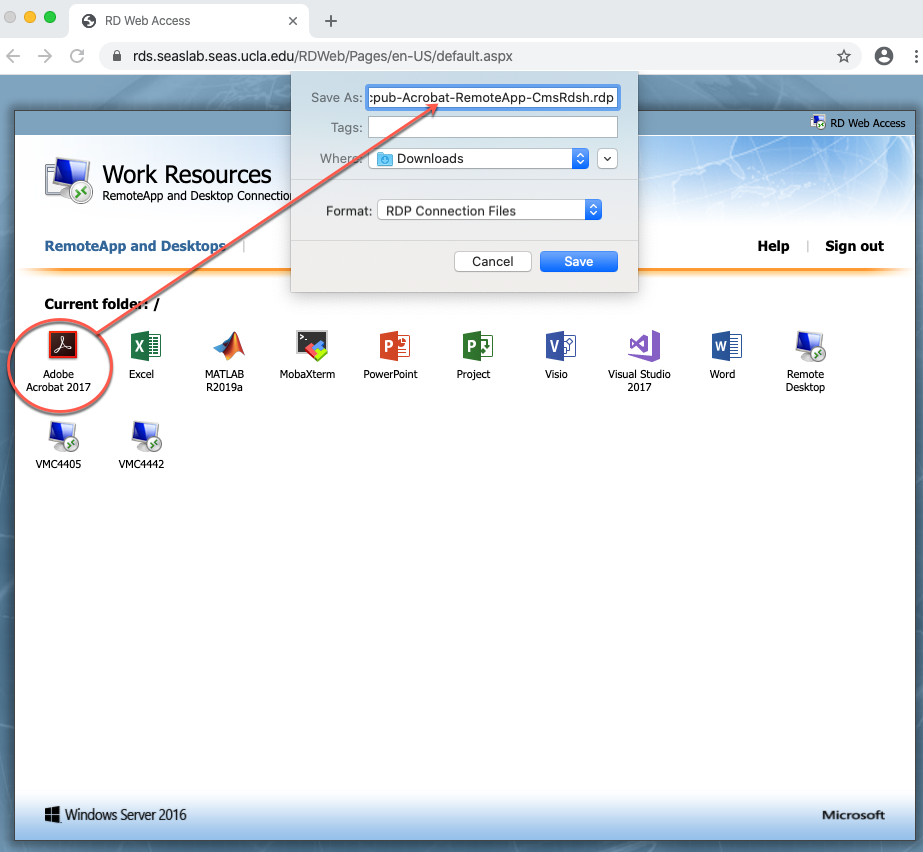 RDP files download